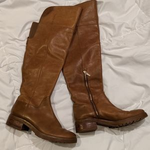 MICHAEL Michael Kors Brown Leather Boots 9